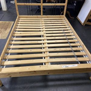 FURNITURE Unique Wooden Full Size Bed double bed