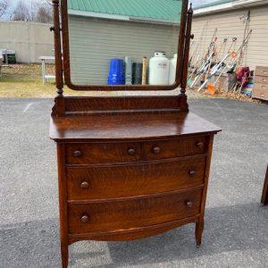 FURNITURE Oak Dresser with Mirror antique dresser