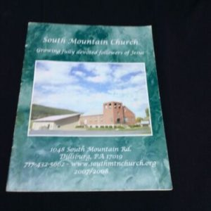 YEARBOOKS 2008 South Mountain Church Directory, Dillsburg, PA [tag]