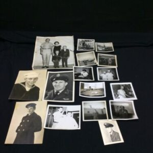 Photos Vintage Military Photograph Lot Of 16 Mixed Photos Most from the 60's [tag]