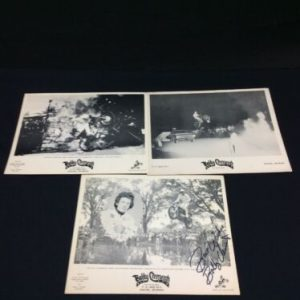 PHOTOGRAPHS Lot of 3 Bobby Clements B & W photo handouts, one is signed, Thrills Unlimited, [tag]
