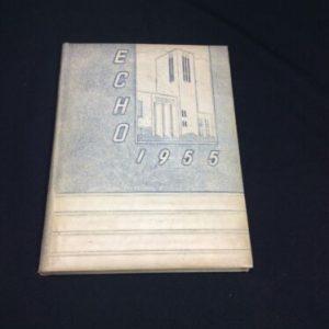 "YEARBOOKS 1955 ""Echo"" John Piersol McCaskey High School Yearbook, Lancaster, PA [tag]"