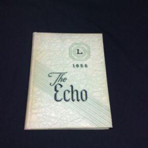 "YEARBOOKS 1956 ""Echo"" John Piersol McCaskey High School Yearbook, Lancaster, PA [tag]"